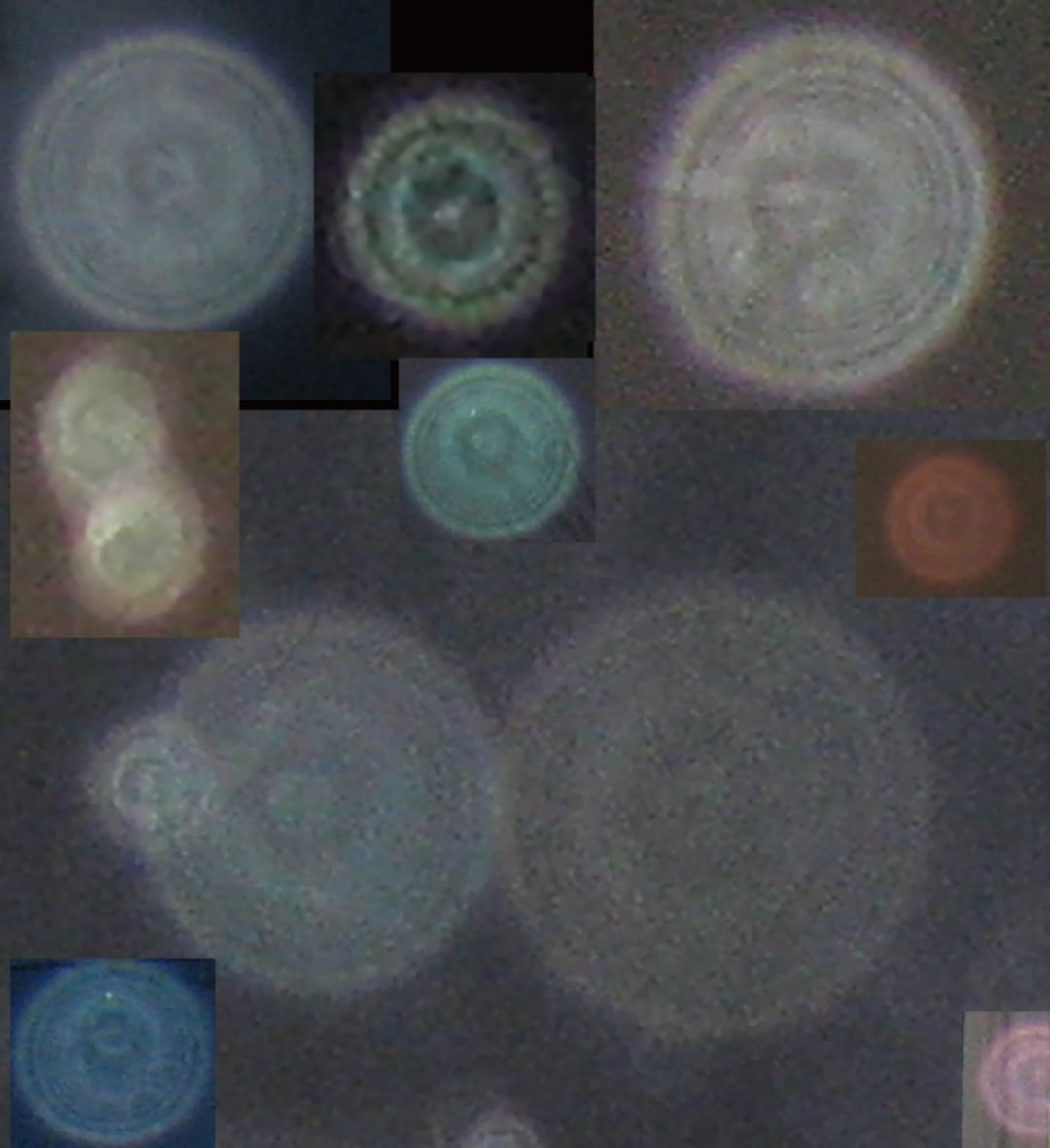 Small collection of orbs
