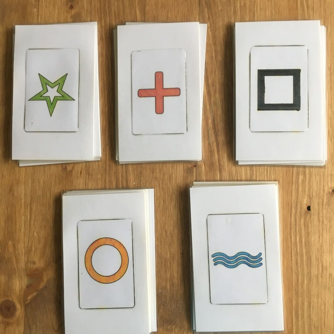 Zener cards are cards used to conduct experiments for extrasensory perception (ESP)