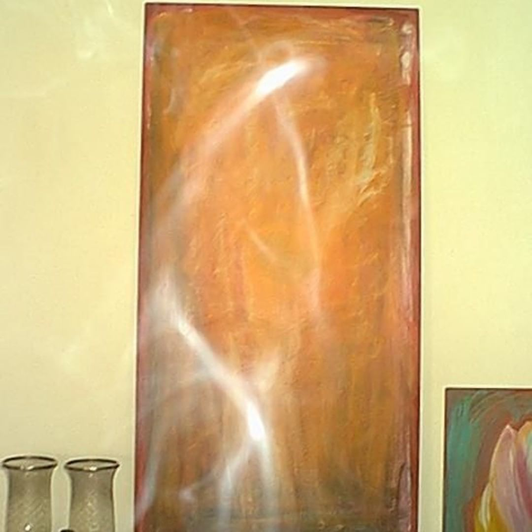 spirit energy on painting